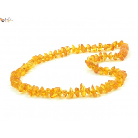 Honey Nugget Style Amber Baby Necklace