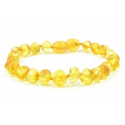 Lemon Baroque Amber Bracelets for Adults