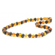 Polished Baroque Mix Amber Necklaces