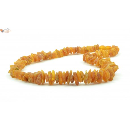 Raw Amber Nugget Necklaces for Adults