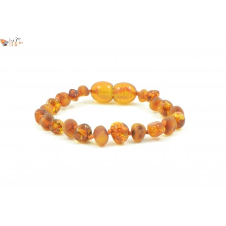 Raw Baroque Mix Amber Baby Bracelets / Anklets