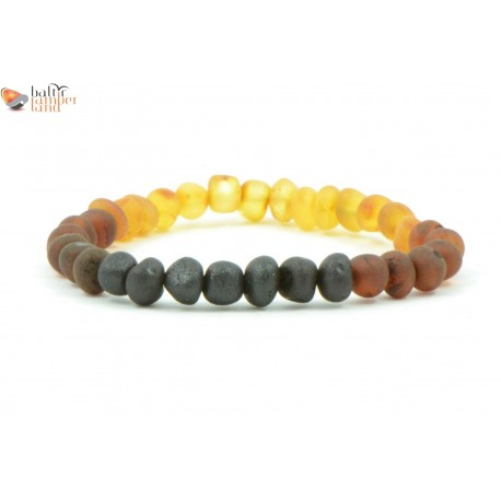 Rainbow Baroque Amber Bracelets for Adults