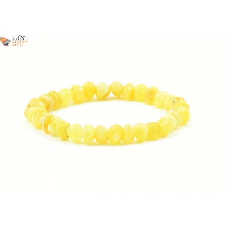 Baroque Style Milky Amber Adult Bracelets