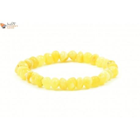 Baroque Style Milky Amber Adult Bracelets
