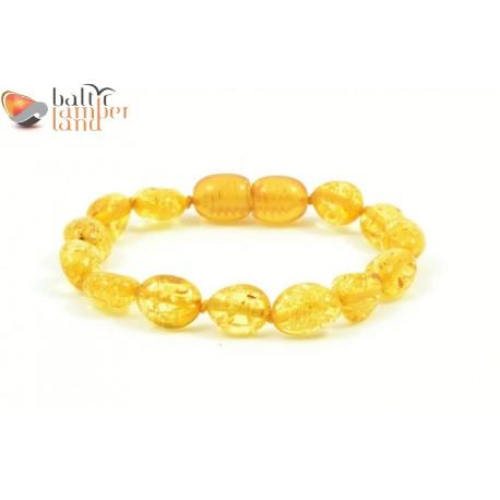 Olive Style Amber Bracelets / Anklets for Baby