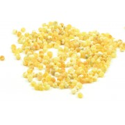 Milky Baroque Amber Beads