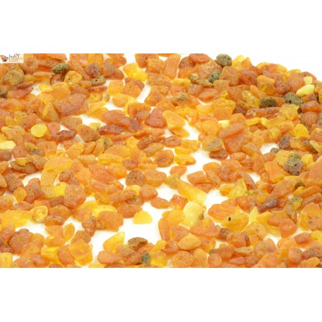 Raw Cognac Amber Beads in Nugget Style